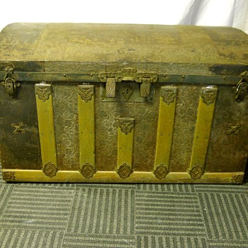 Antique Trunk, Circa 1880-90