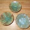 Studio Art Pottery Bowls - Dishes Majolica like glaze Help Identify