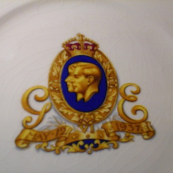 MINTONS COMMEMORATIVE PLATE  - China and Dinnerware