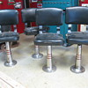 1940&#039;s soda fountian stools