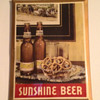 Sunshine Beer Tin Sign