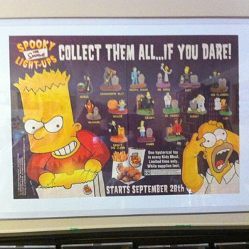 Burger King Simpsons promo