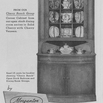 1950 Morganton Furniture Advertisements