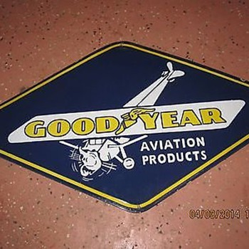 Goodyear Plane - Petroliana