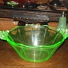 Cambidge #3400 Green Bowl