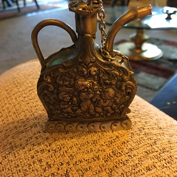 Antique tea kettle or oil can (very small)?