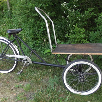 Worksman trike 1960's - Outdoor Sports
