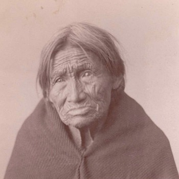 Sioux Indian cabinet card