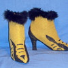EPIC HALLOWEEN - GLAMOUR VULTURE LADY - TALON BOOTS