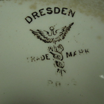 Dresden pottery - China and Dinnerware