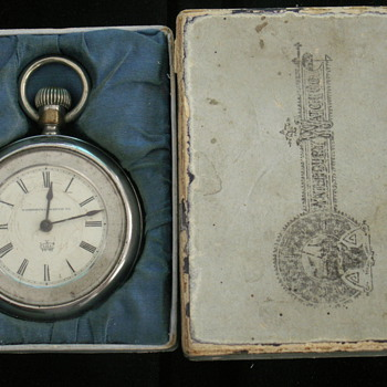 (Horace Greeley) Waterbury Longwind Watch - Pocket Watches