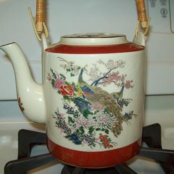 Satsuma Tea Pot - Asian