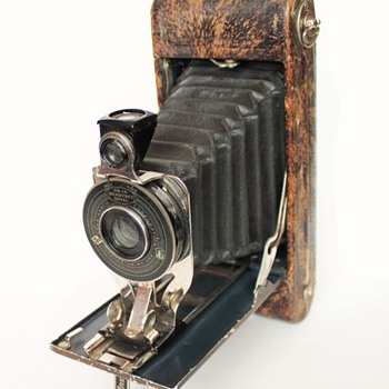 Agfa Ansco No.1a Readyset Royal Cameras (Silver Fox) and (Ostrich Skin) - Cameras