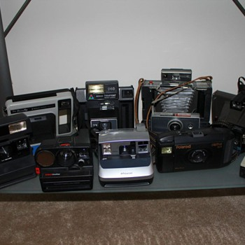 my collection - Cameras