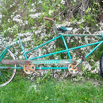 Hiawatha tandem bicycle
