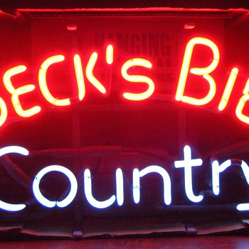 Beck's Bier Country - Signs