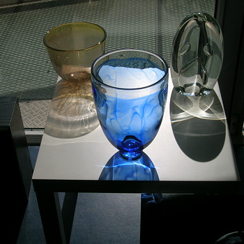 Willem Heesen, Sybren valkema and claritas - Art Glass