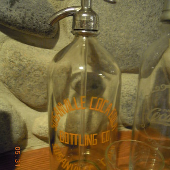 Seltzer Bottle, Susanville Coca-Cola Bottling Co., Susanville, Calif. - Coca-Cola