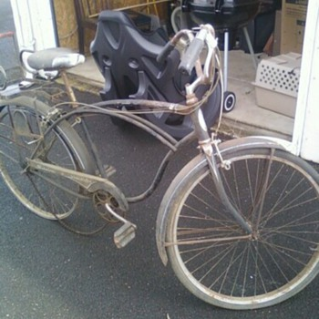 a Schwinn Speedester