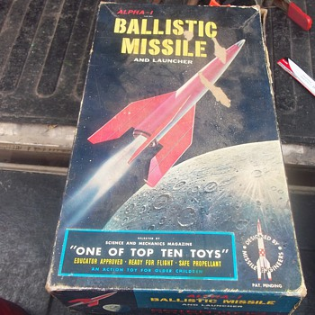 1958 BALLISTIC MISSILE KIT