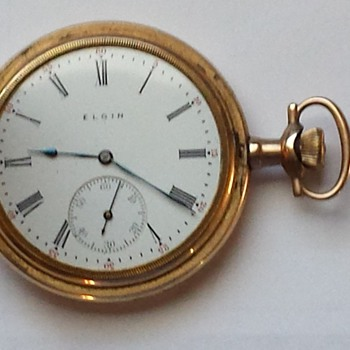 My grandpa's 1912 Elgin pocket watch