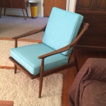 1950's Seng Lounge Chair reupholstered