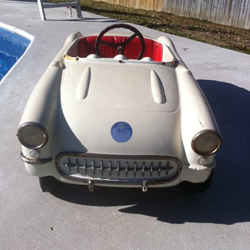 1956 Eska Corvette Pedal Car