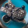 Judith Jack For Disney Minnie Mouse Sterling Silver Brooch/Pendant Flea Market Find $1.50