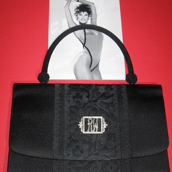 Raquel Welch . . . Silk and Lace Purse