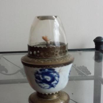 1970s Opium Lamp
