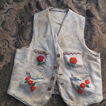 An Indian beaded vest - Womens Clothing