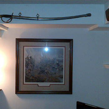 D.J. Millard Sword and Scabbard - Military and Wartime