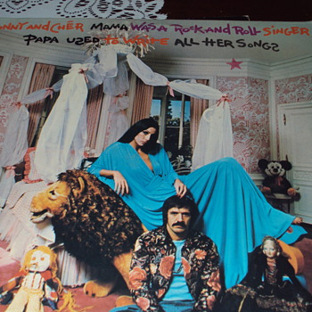 Sonny and Cher Album Cover - Records