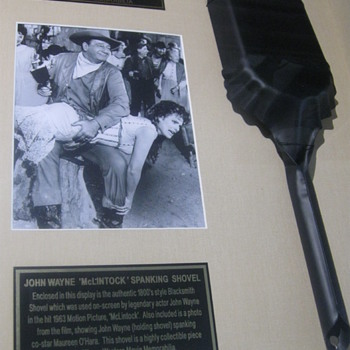 John Wayne 'Spanking Shovel' . . . McLintock!