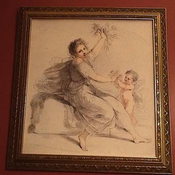 Flora Cupid by  Bartolozzi. - Visual Art