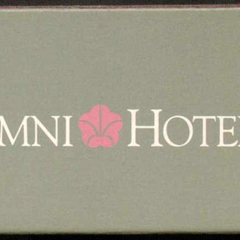 1995 - Omni Hotels - Xiamen China Matchbox