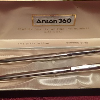 Anson 360 Sterling Purse Pen, made for Tiffany's & Neiman Marcus in the 70's, I think? Help with refills.