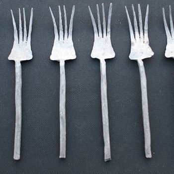 Antique Forks  - Sterling Silver