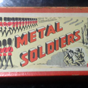 Metal Soldiers, American G.I.s, Fred Bronner - Toys