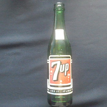 7 up Bottle - Bottles