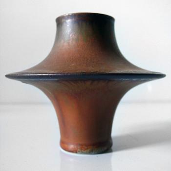 Karl Scheid vase - Art Pottery