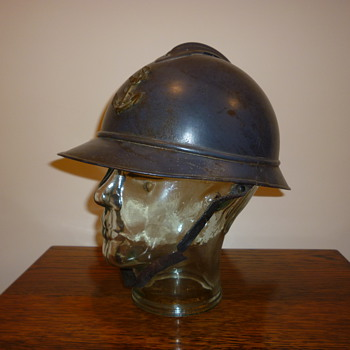 French WWI steel helmet for Colonial Troops. - Military and Wartime