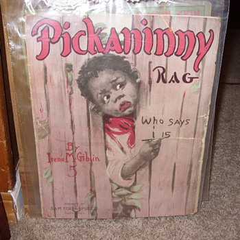 PICKANINNY RAG SHEET MUSIC