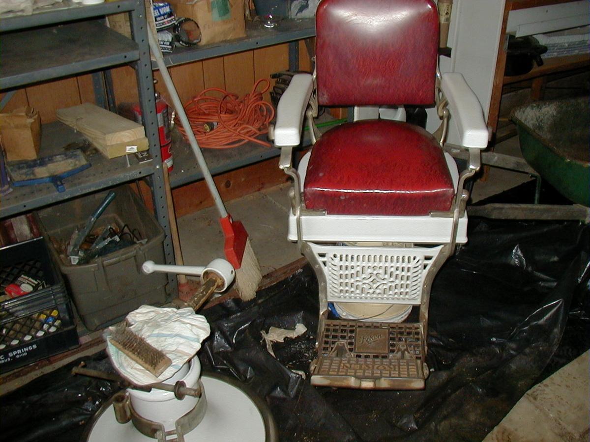 1920 39 s 1930 39 s koken barber chair collectors weekly - Deco klassiek koken ...
