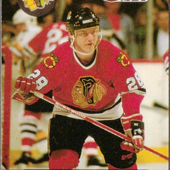 1990 - Hockey Cards (Chicago Blackhawks)