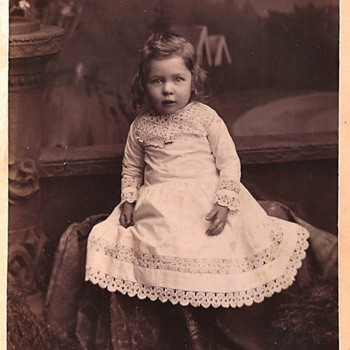 Vintage Cabinet Card Photos - Children