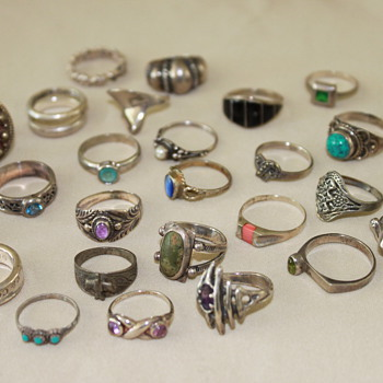 Sterling Rings - Fine Jewelry