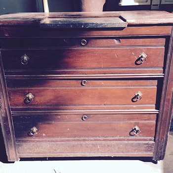 Dresser Estate Sale find - Furniture