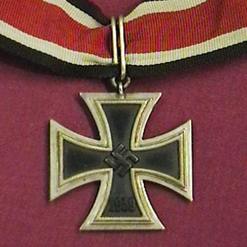 WW II Iron Cross 2nd Class  Conversion to Knights Cross