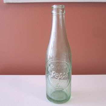 Vintage Dr. Pepper Bottle